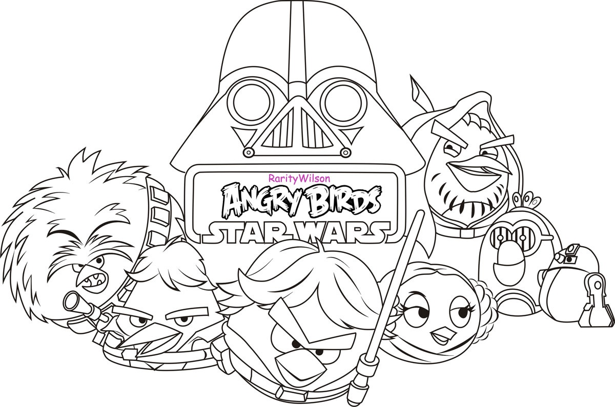 coloring pages star wars - photo#36