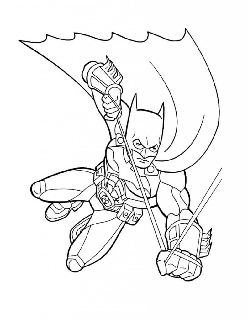 batman coloring pages for kids - photo#30