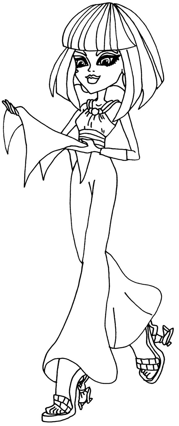 monster coloring pages images - photo#1