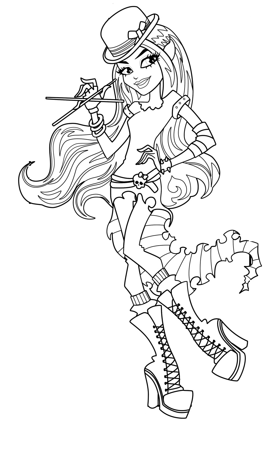 1000 Images About Monster High Stencils On Pinterest