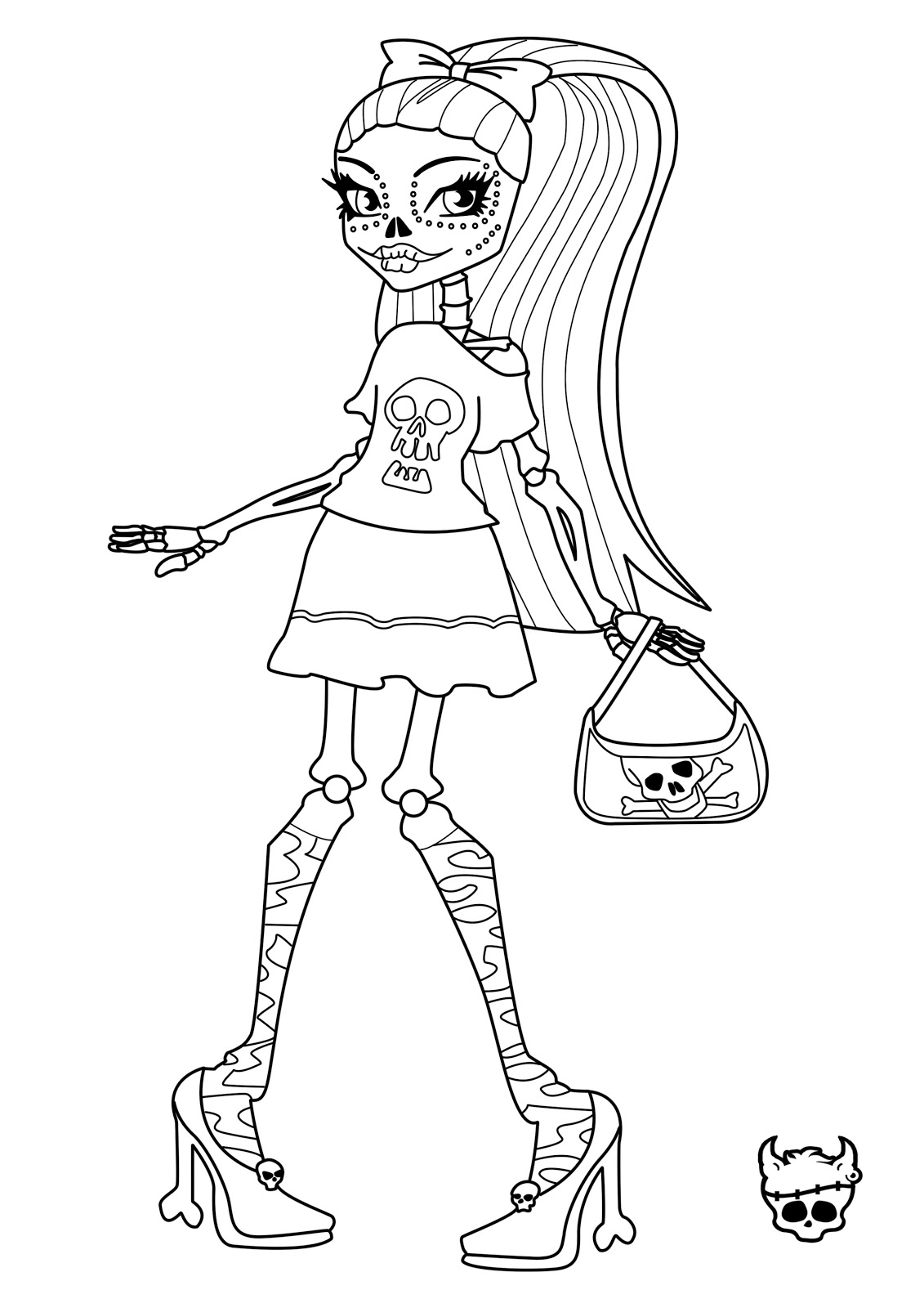 monster high coloring pages draculaura cool monster high characters