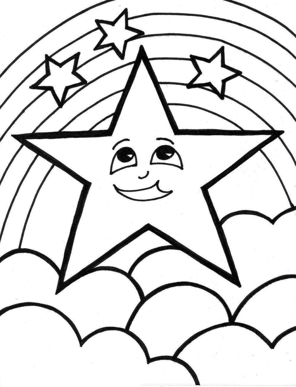 stars coloring pages free printable star coloring pages for kids