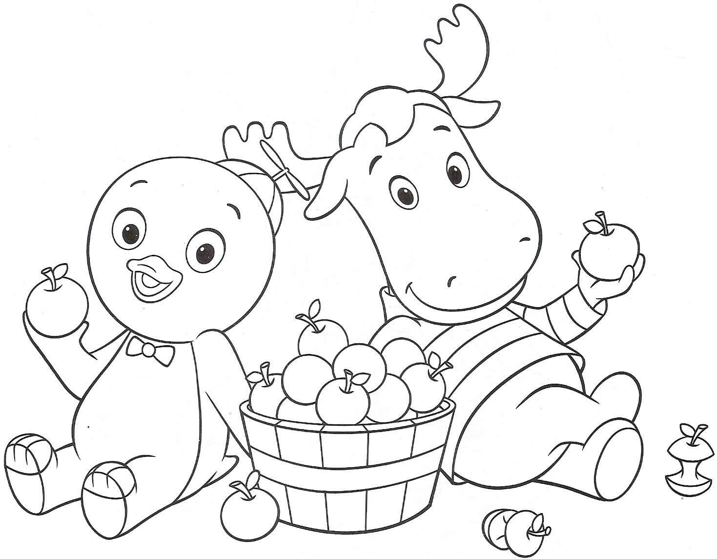 the backyardigans coloring pages free - photo#23