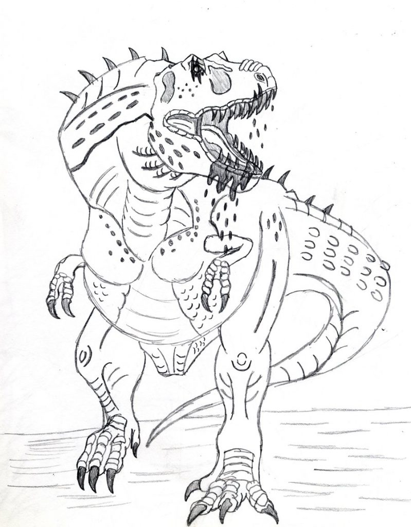 Free Printable Dinosaur Coloring