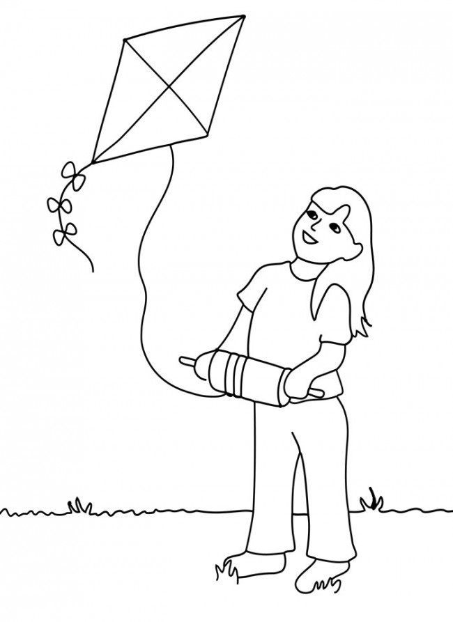 How To Draw House kite ball  Learning Coloring Pages