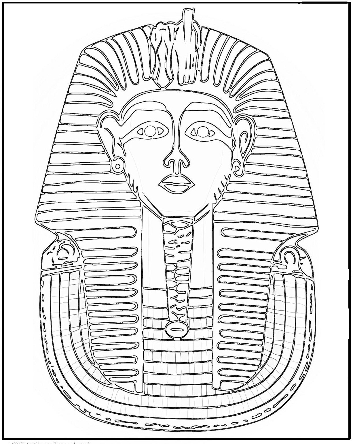 egypt free coloring pages - photo#12