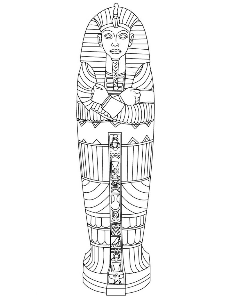 egyptian foods coloring pages - photo#38