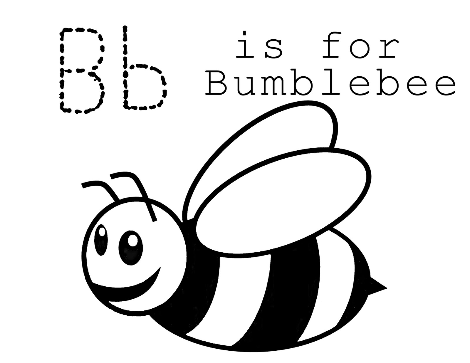 coloring pages with bees - photo#7