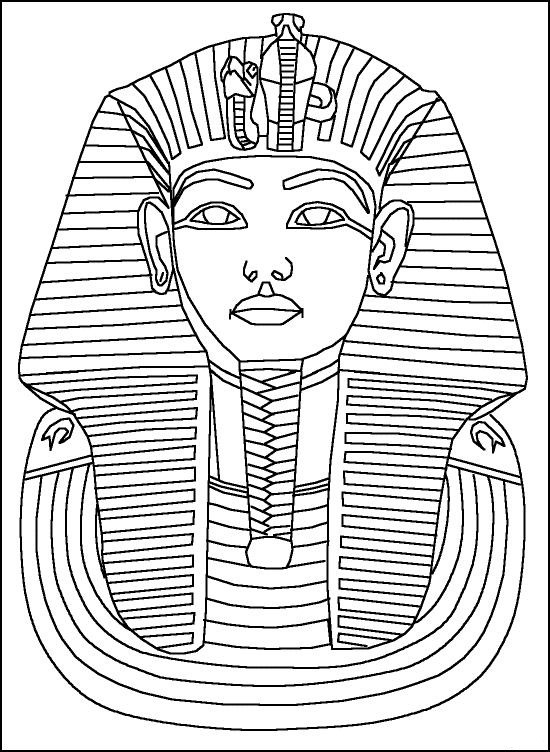 Free Printable Ancient Egypt Coloring