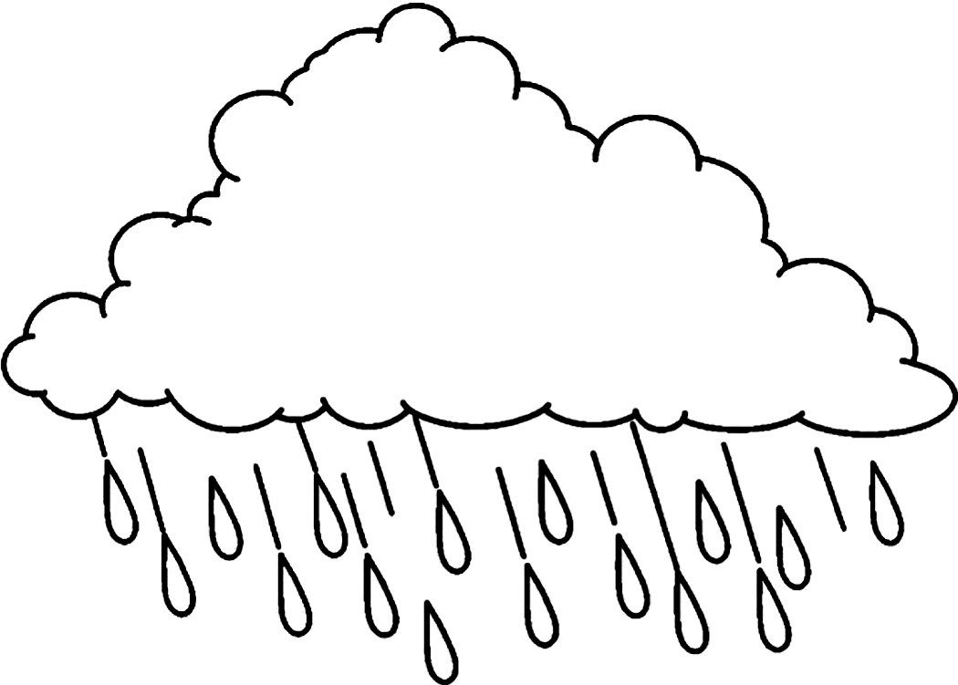 free cloud coloring pages - photo#18
