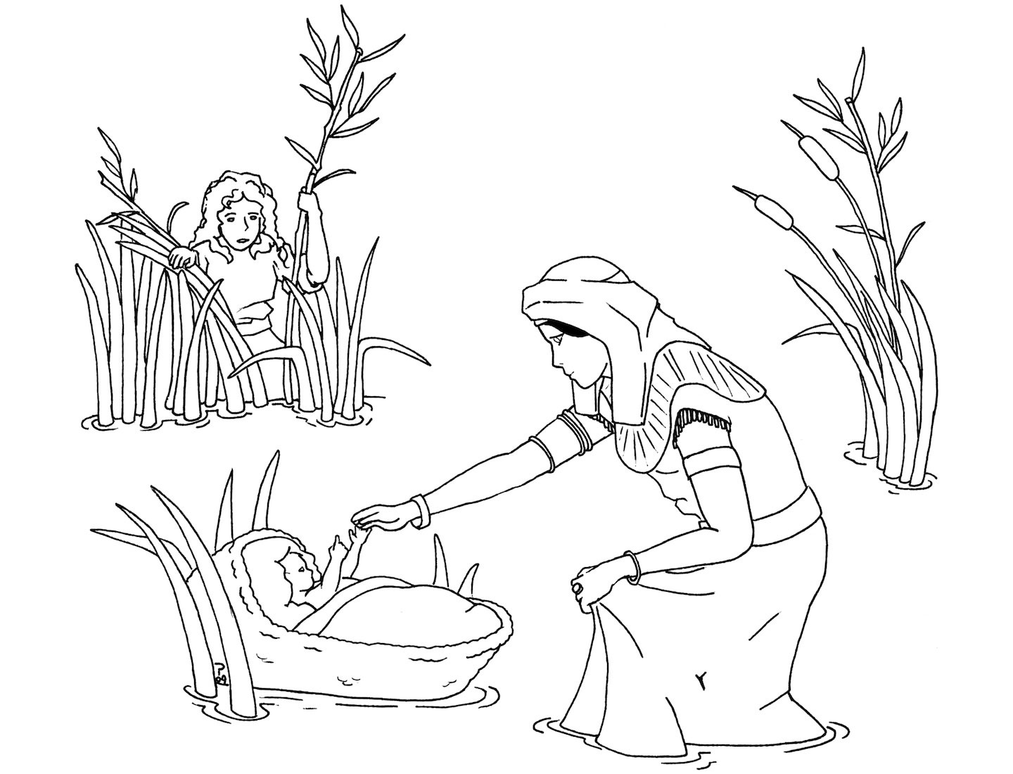 free bible coloring pages moses free printable moses coloring pages for kids