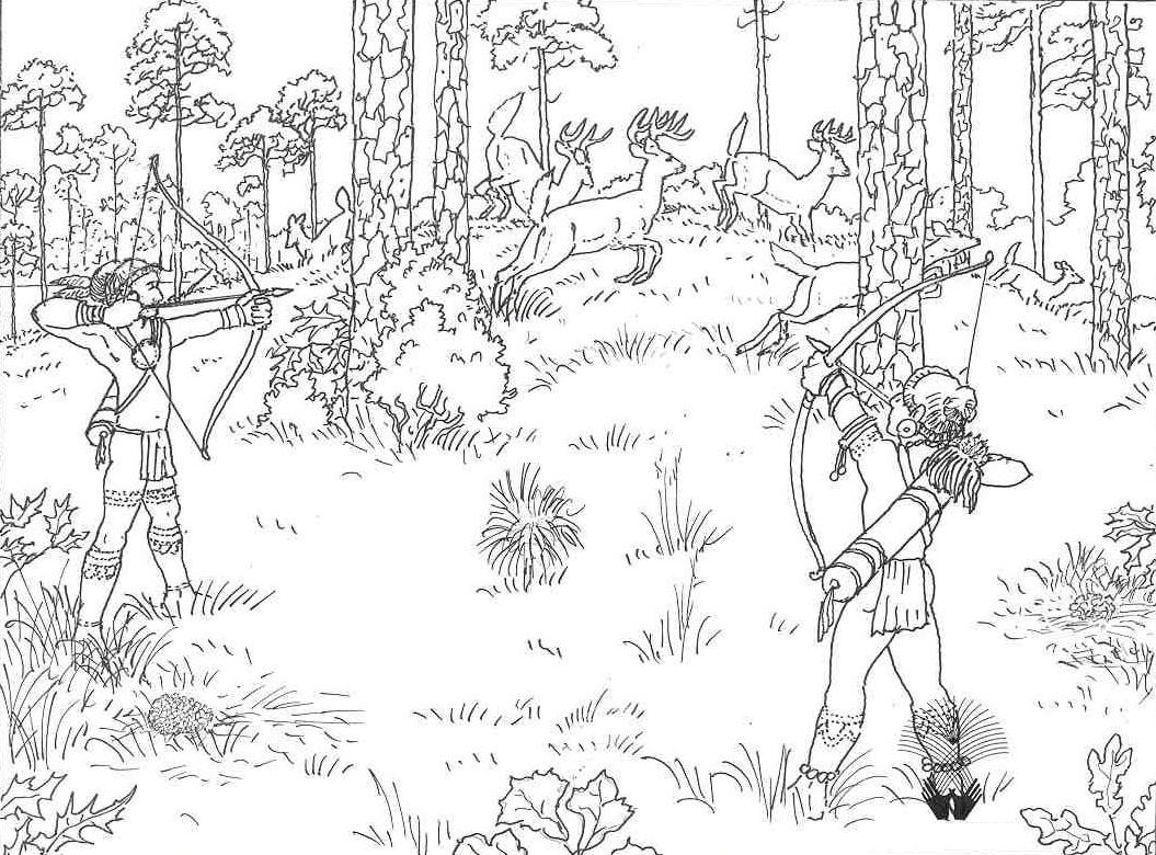 free duck hunting coloring pages - photo#28