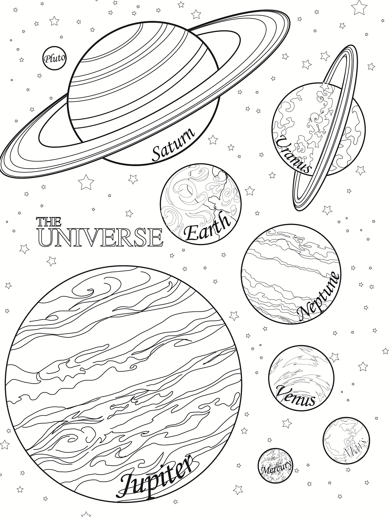 Planet Earth Coloring Page Printable (page 4) - Pics about ...