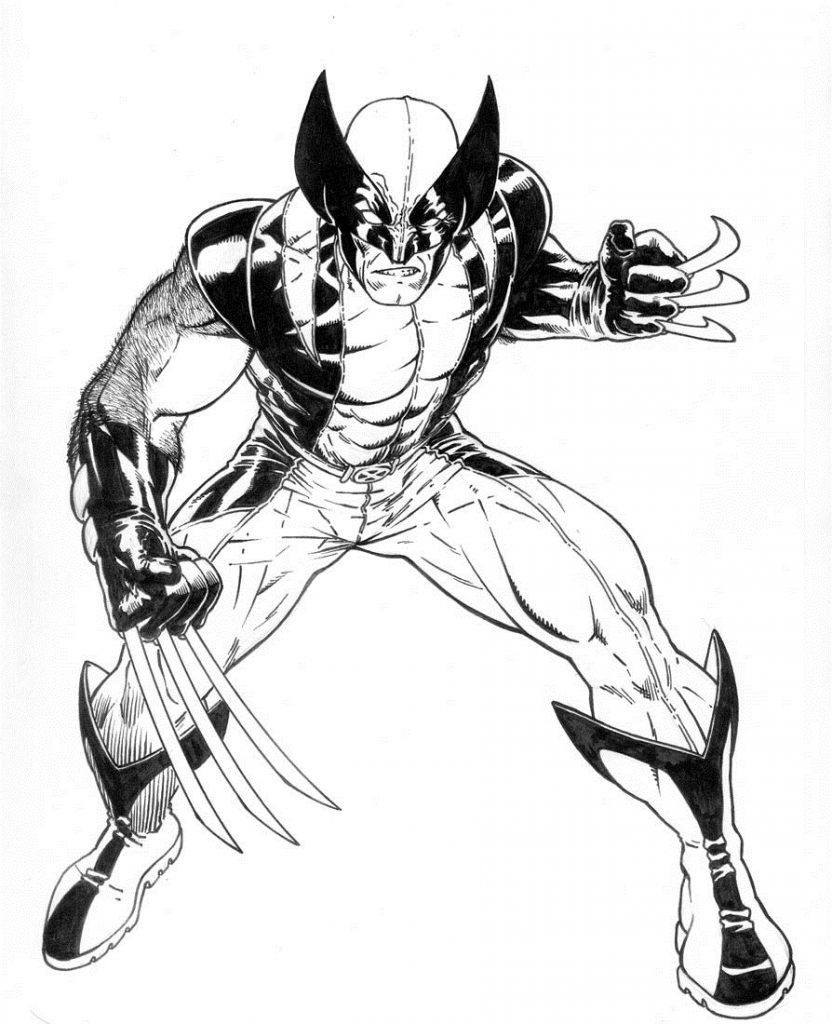 Malvorlagen Wolverine Und X Men Ausmalbilder Pictures To Pin On ...