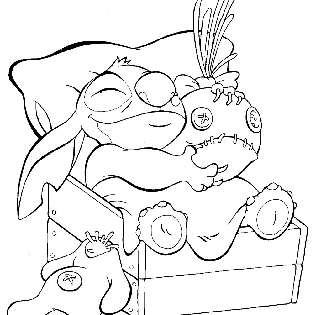 lilo and stoth coloring pages - photo#44