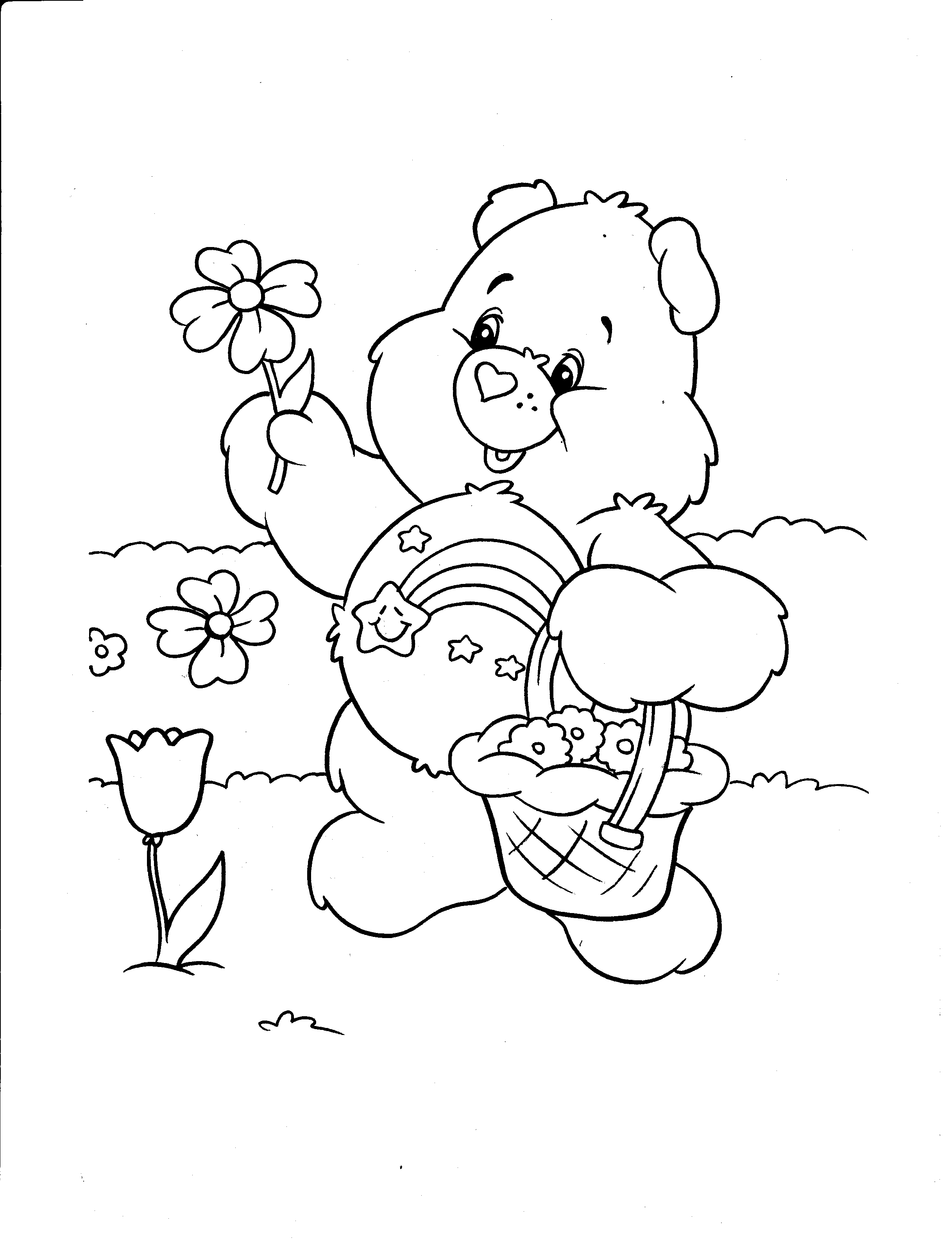 It is a picture of Sizzling Printable Bear Coloring Pages
