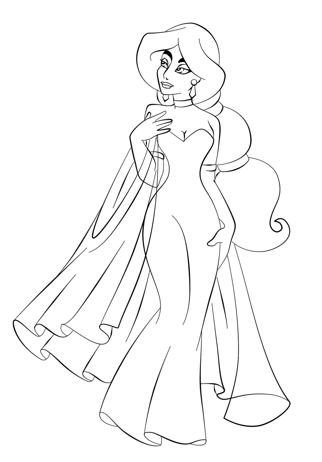 jazmin coloring pages - photo#15