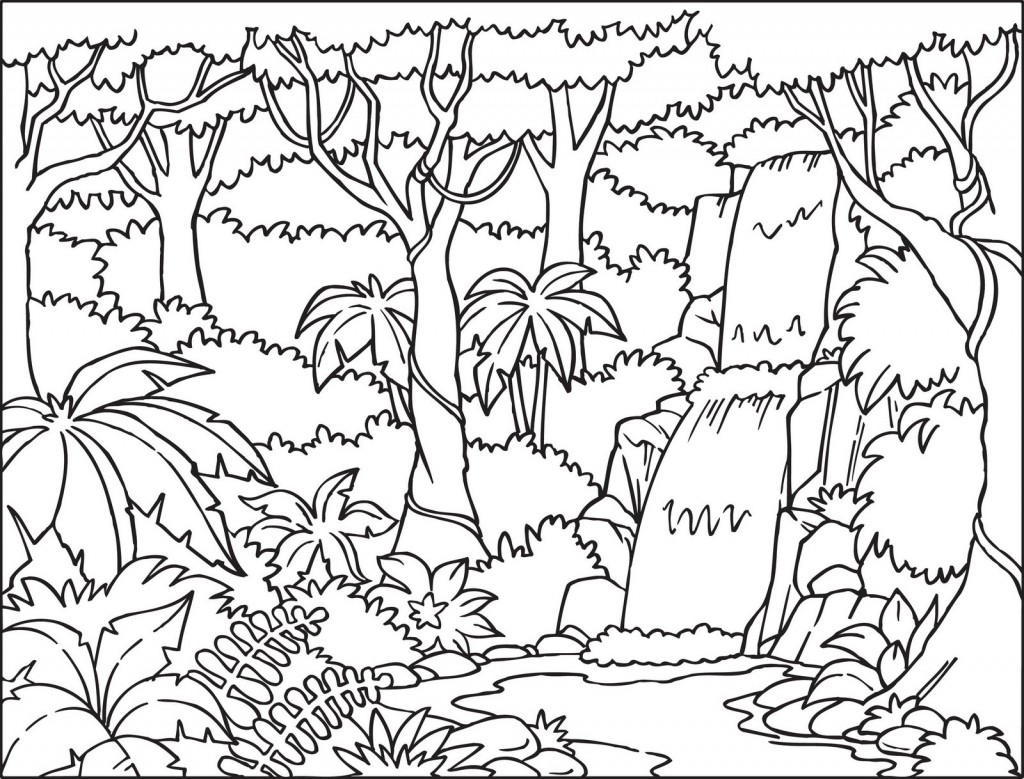 Free Printable Nature Coloring Pages For Kids - Best ...