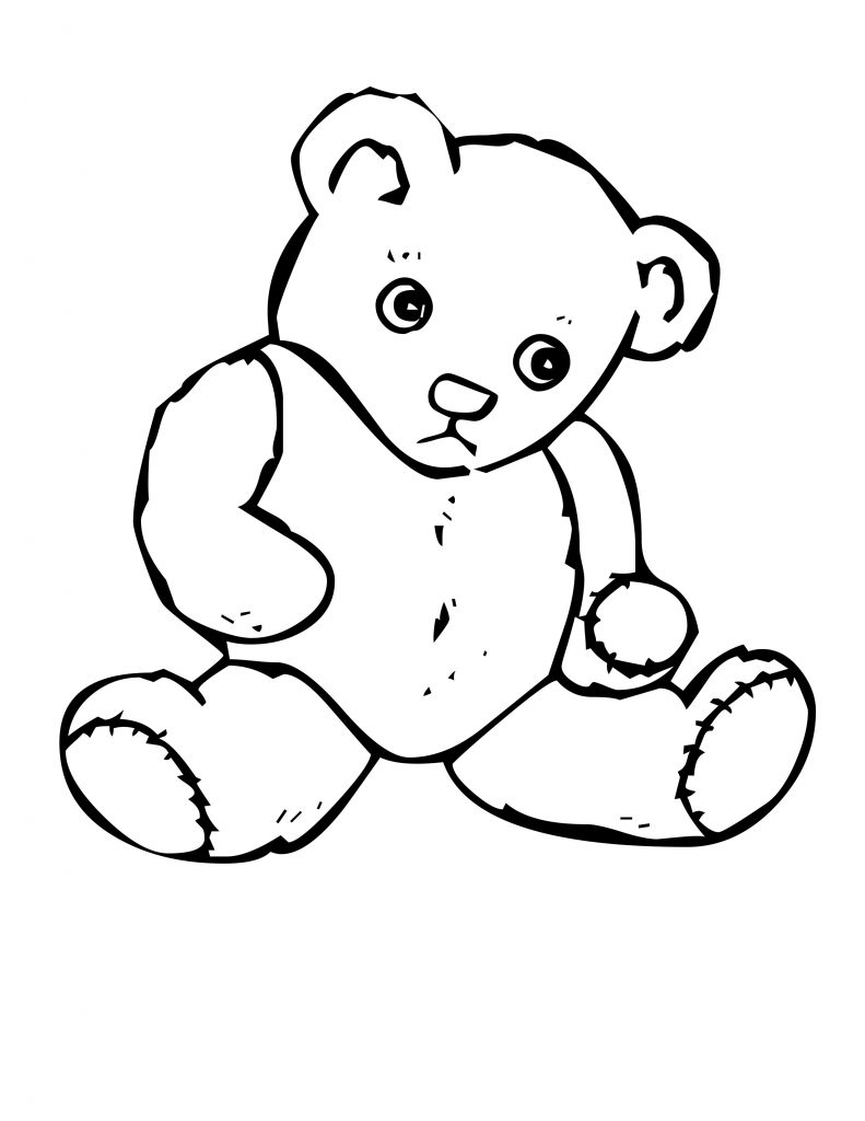free coloring pages little bear - photo#22