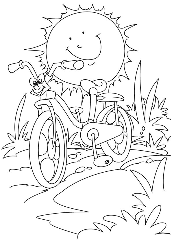 summer coloring book pages - photo#24