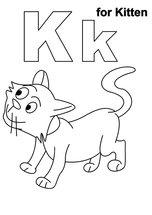 free printable kitten coloring pages for kids | Free Printable Kitten Coloring Pages For Kids - Best ...