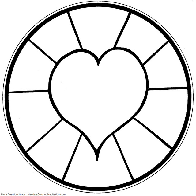 free printable mandalas for kids best coloring pages for