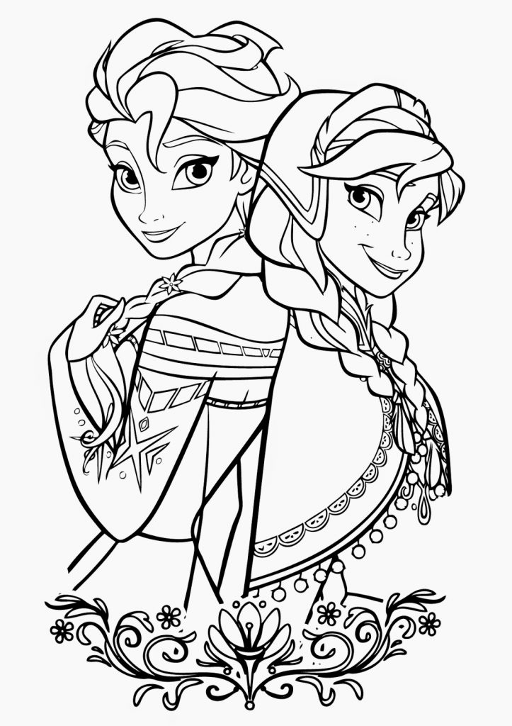 Free Printable Elsa Coloring Pages For Kids