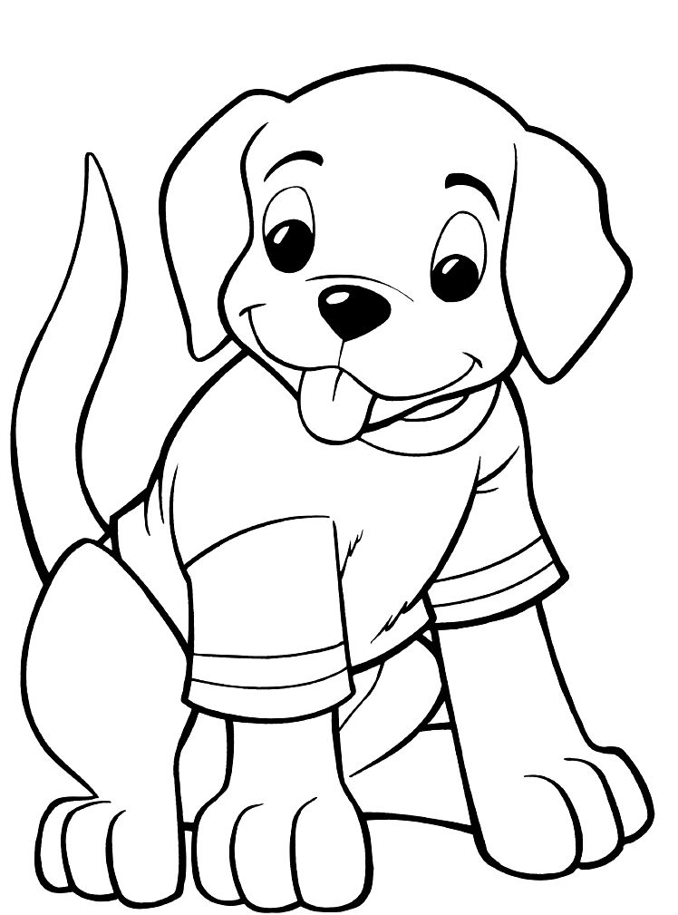 It's just an image of Versatile Printable Dog Coloring Pages