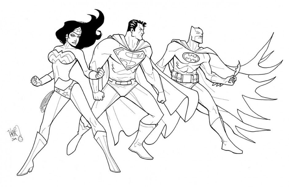 jla justice league coloring pages | Justice League Coloring Pages - Kidsuki