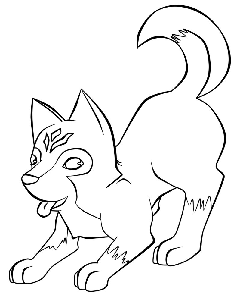 coloring pages huskys - photo#18