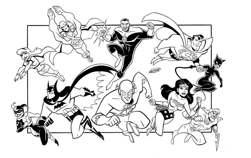 Justice League Coloring Pages Best Coloring Pages For Kids