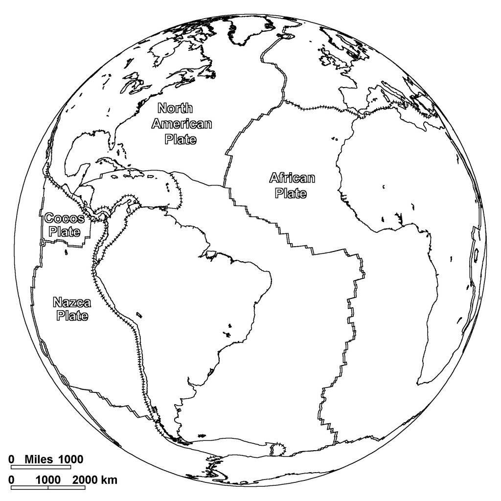 Free Printable World Map Coloring Pages For Kids - Best ...