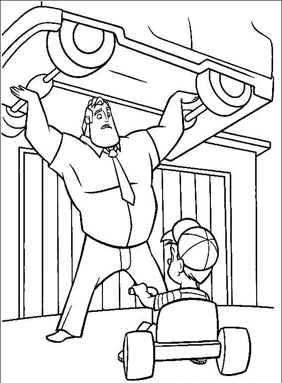 Incredibles Coloring Pages - Best Coloring Pages For Kids