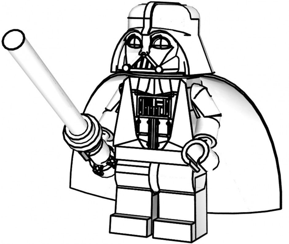 It is a picture of Influential Darth Vader Coloring