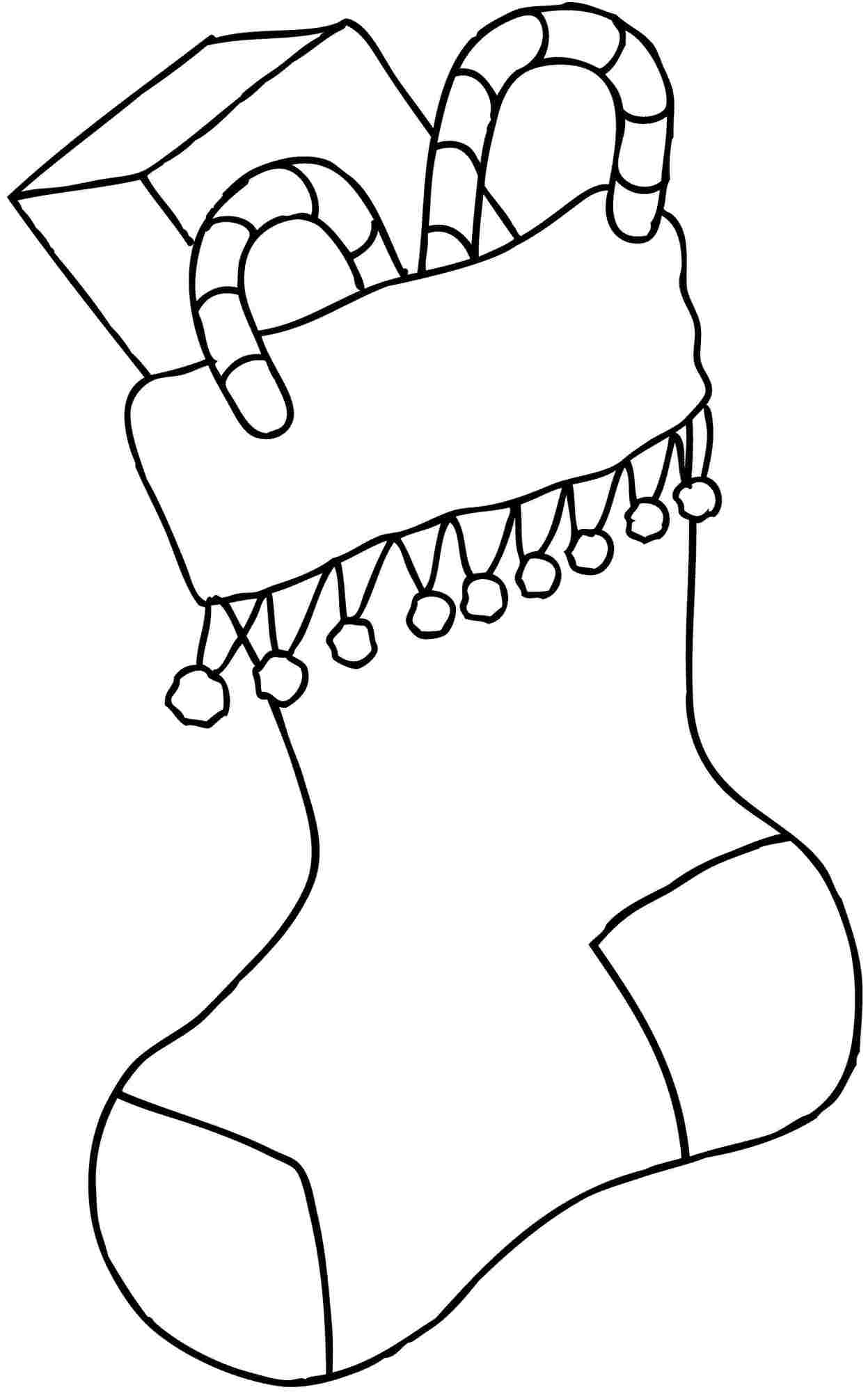 Christmas Stocking Coloring Pages - Best Coloring Pages ...