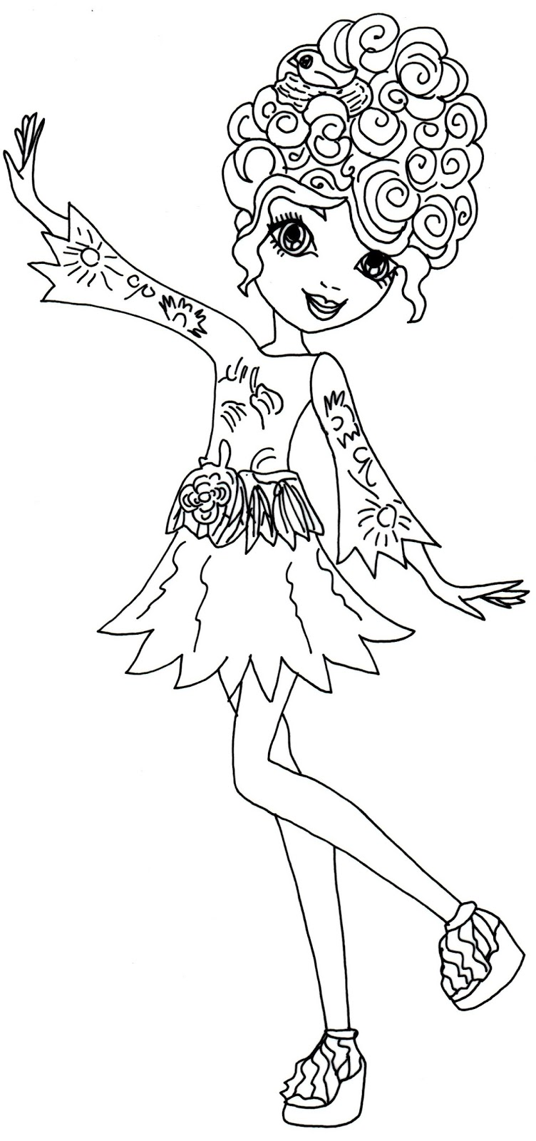 Ever After High Coloring Pages - Best Coloring Pages For Kids